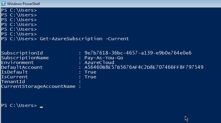 Get-AzureSubscription_Current